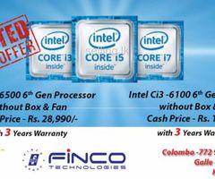 Intel processor price promo