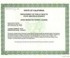 Pharmacy licence