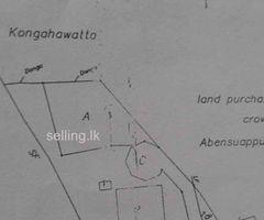 Land for sale in karapitiya