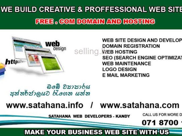 Creative Professional web Design in Sri lanka - Responsive Design