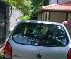 Suzuki Alto LXI Special Edition 2012