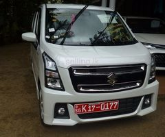 SUZUKI WAGON R STINGRAY HYBRID