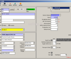 Finger print  & Payroll system