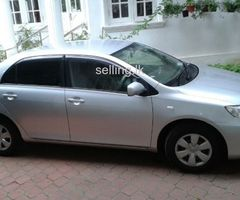 Toyota axio is for sale