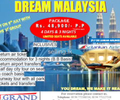 Dream Malaysia Tour
