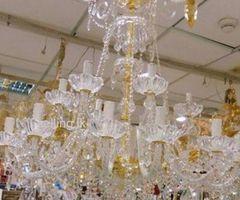 crystal chanderlier light