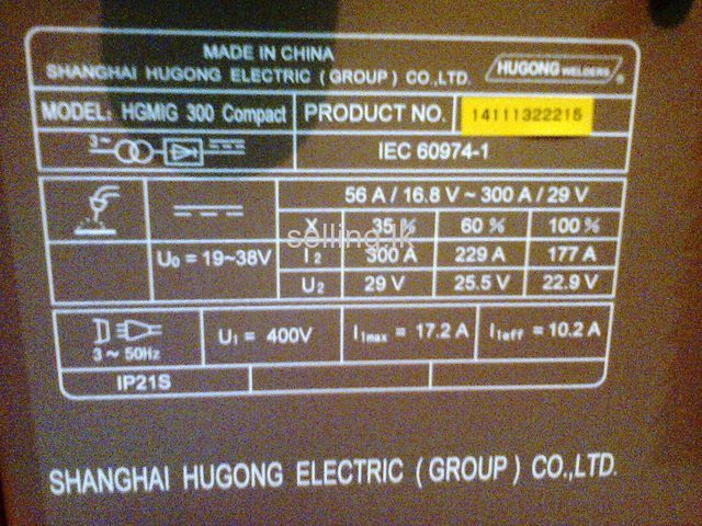 MIG TIG Welding Machine