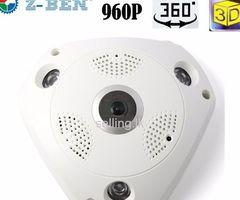 360 Rotating 960p Wifi Spy camera