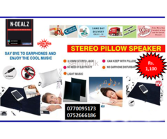 Stereo Pillow Speakers