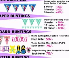 Decorations for Kids Parties, Special Events And Weddings