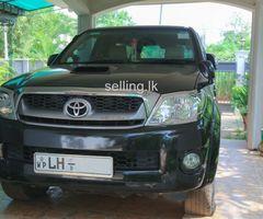 Toyota Hilux Smart Cab - 2010