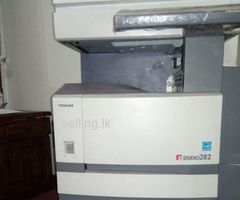 Toshiba e studio 282 photocopy