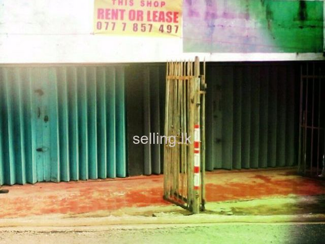 Shop space for rent in Rathmalana
