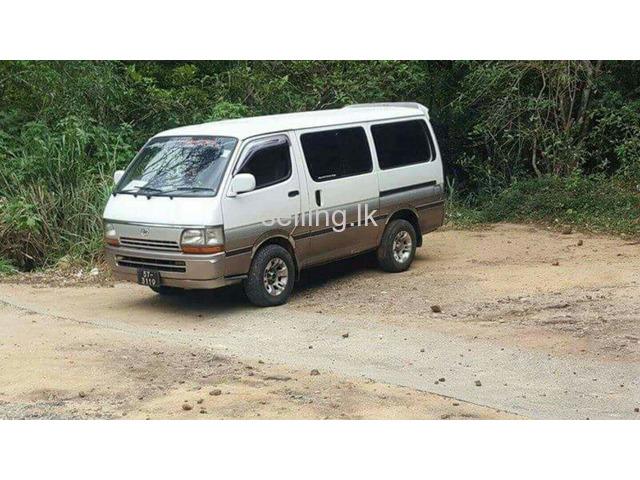 Toyota Dolphin Super Gl Van For Sale In Sri Lanka Ikman Lk