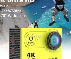 Original Ultra HD 4k Wifi Sports Action Camera (Waterproof)