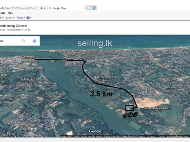 LAND FOR SALE IN KALUTARA NORTH