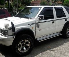 Isuzu Opel Frontera Sport Jeep 1997