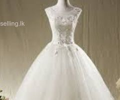 BEAUTIFUL WEDDING FROCK