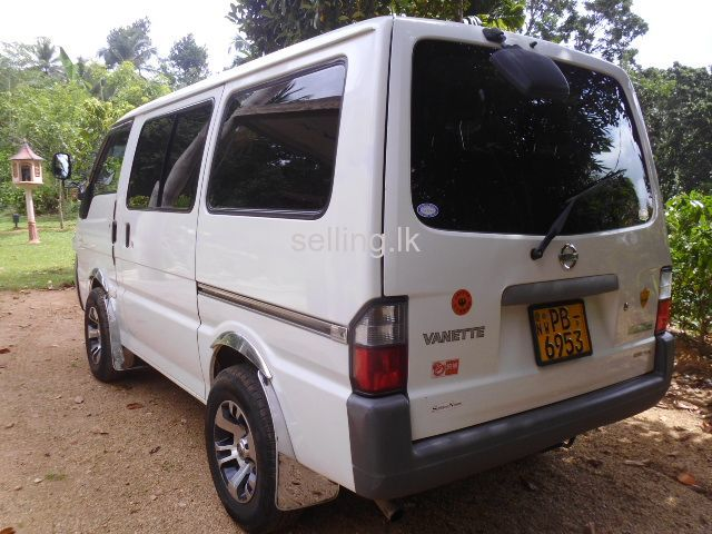 Nissan Vanet For Sale Alawwa Selling Lk In Sri Lanka