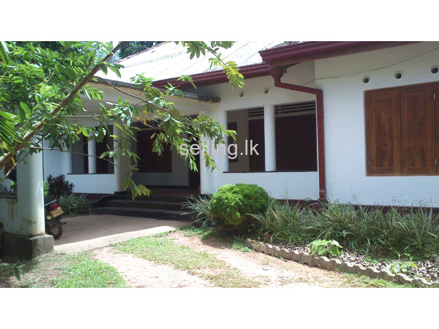 House for sale with 1 Acre land