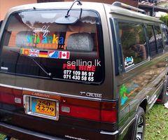 Caravan van 32000