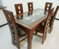 Furniture Table with Chairs