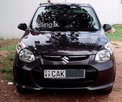 Suzuki ALTO 2015 Registered (1st Owner) Car