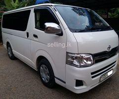 Toyota KDH 201 2012