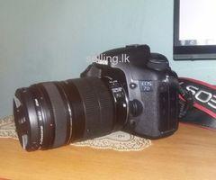 EOS 7D Canon DSLR Camera