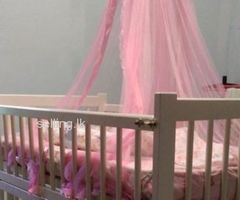 Baby Cot - White color