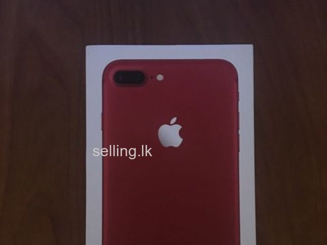 New! Apple iPhone 7 Plus (PRODUCT)RED - 128GB