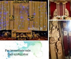 Immediate Sale - Wedding Structure/deco