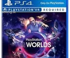 PlayStation vr bundle with 2 games