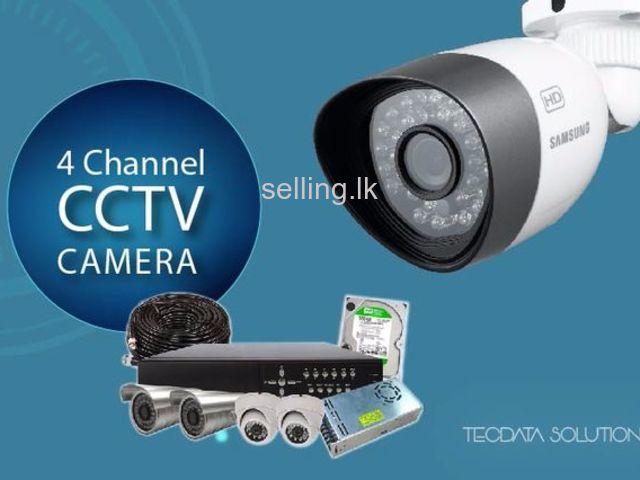 2MP CCTV 4CH Camera Systems