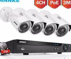 3.0MP 4 Channel AHD CCTV Camera Systems