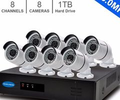 3.0MP 8 Channel AHD CCTV Camera Systems