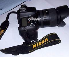 Nikon D7200 Camera with 18-300 VR Lense