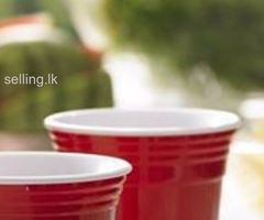 Party Cups(Americal Red Party Cups)
