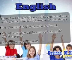 Home Visit English Classes