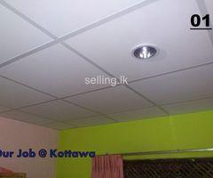 Low Cost Ceiling ( Adu Wiyadam Ceiling)