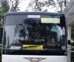 Hino rainbow bus is for sale!!!