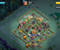 COC - Clash of Clans - TH 10 Base